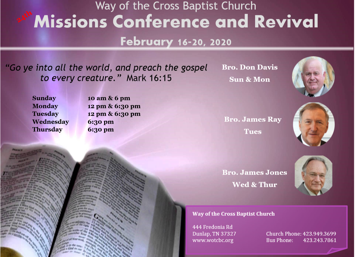 2020 Missions Conference & Revival