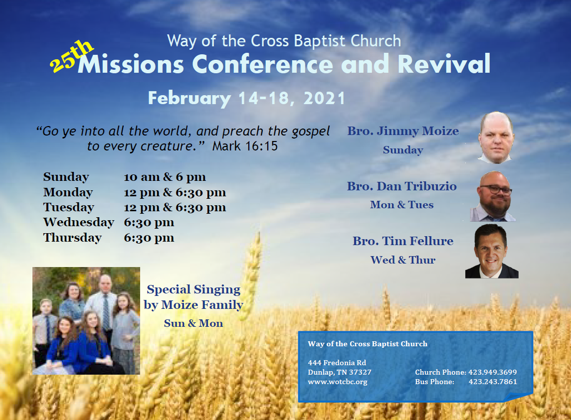 2021 Missions Conference & Revival